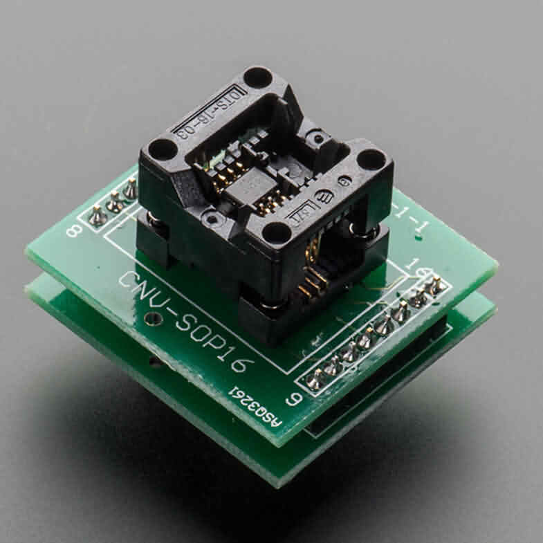 SMT Test Socket - SOIC-8 Narrow Breakout
